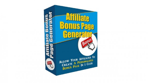Affiliate Bonus Page Generator Review
